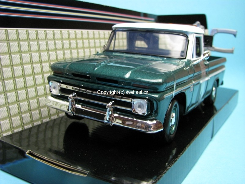 Chevrolet C10 Fleetside Pick Up Wrecker 1966 1:24 Motor Max